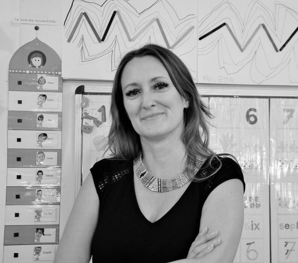 French VIP : Sylvaine Boussatha, maîtresse à l'école Française de Munich